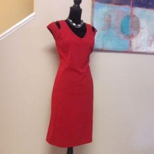Ronnie Nicole/ Red/ Shift Dress